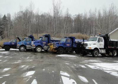 Camions de Marion Asphalte - Marion Asphalte à St-Paul