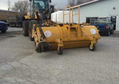 Équipement de nettoyage asphalte à St-Paul - Marion Asphalte à St-Paul